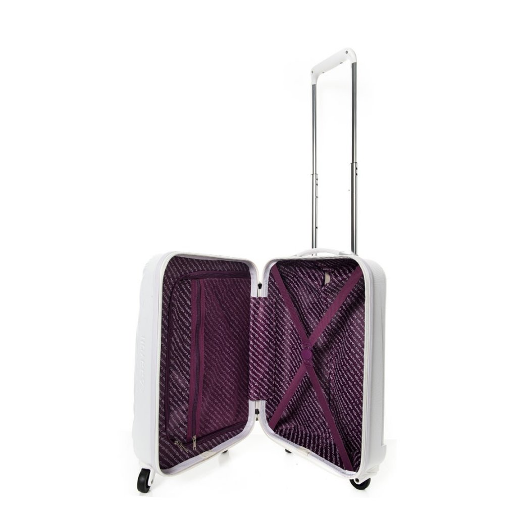 carry on handbagage koffer wave champagne luggage 4 all. Black Bedroom Furniture Sets. Home Design Ideas