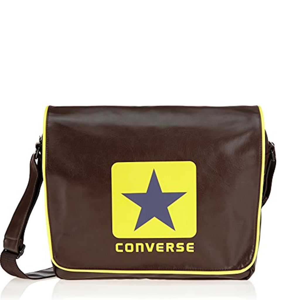 1c430c5fc28 Converse schoudertas A4 bruin 90314 schooltas laptoptas - Luggage 4 All
