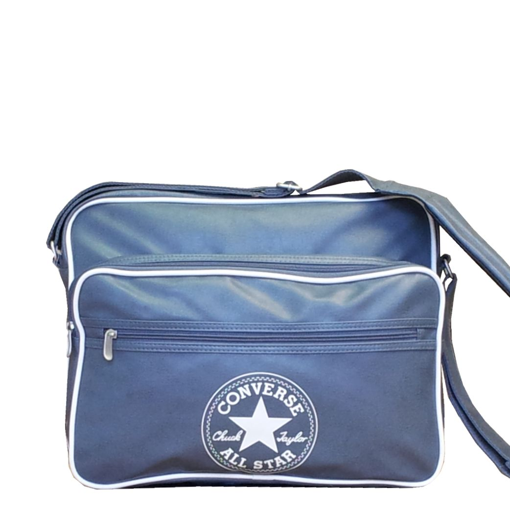 Schoudertassen Dames School : Converse retro collection a tas grijs laptoptas schooltas