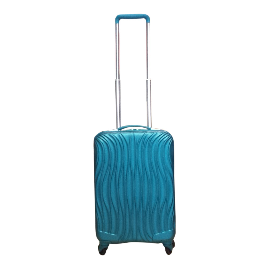 carryon handbagage koffer wave turquoise luggage 4 all. Black Bedroom Furniture Sets. Home Design Ideas