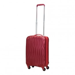 Castillo ABS koffer Carry On Wave S red
