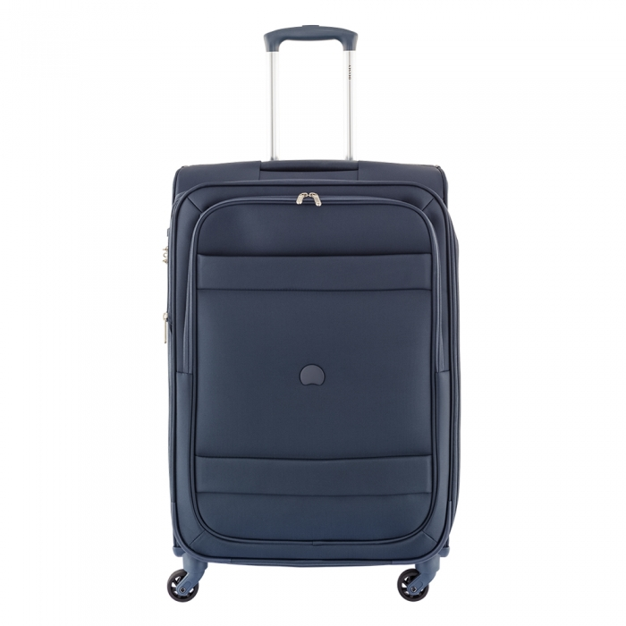 delsey indiscrete medium 4 wiel koffer 69 midnight blue luggage 4 all. Black Bedroom Furniture Sets. Home Design Ideas