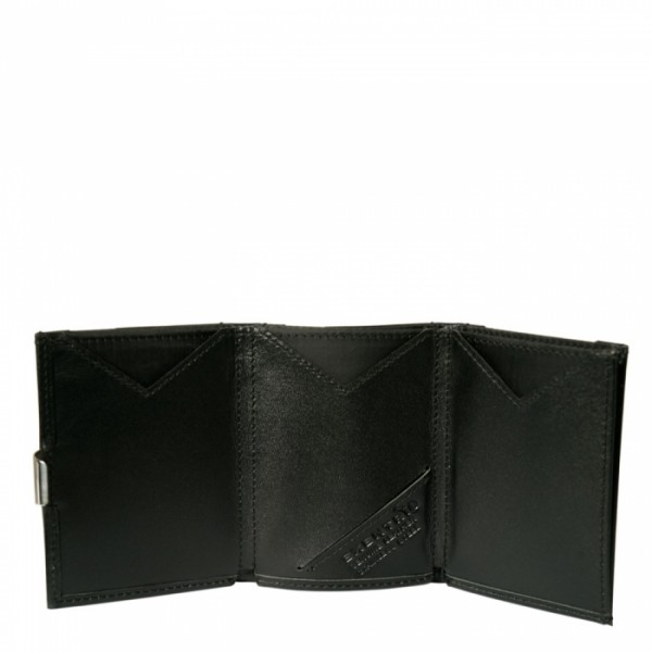 Exentri Leather Wallet black 001