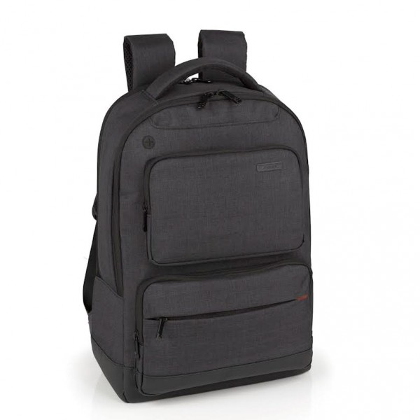 Gabol laptop business backpack System Young Ralph donkergrijs 408605