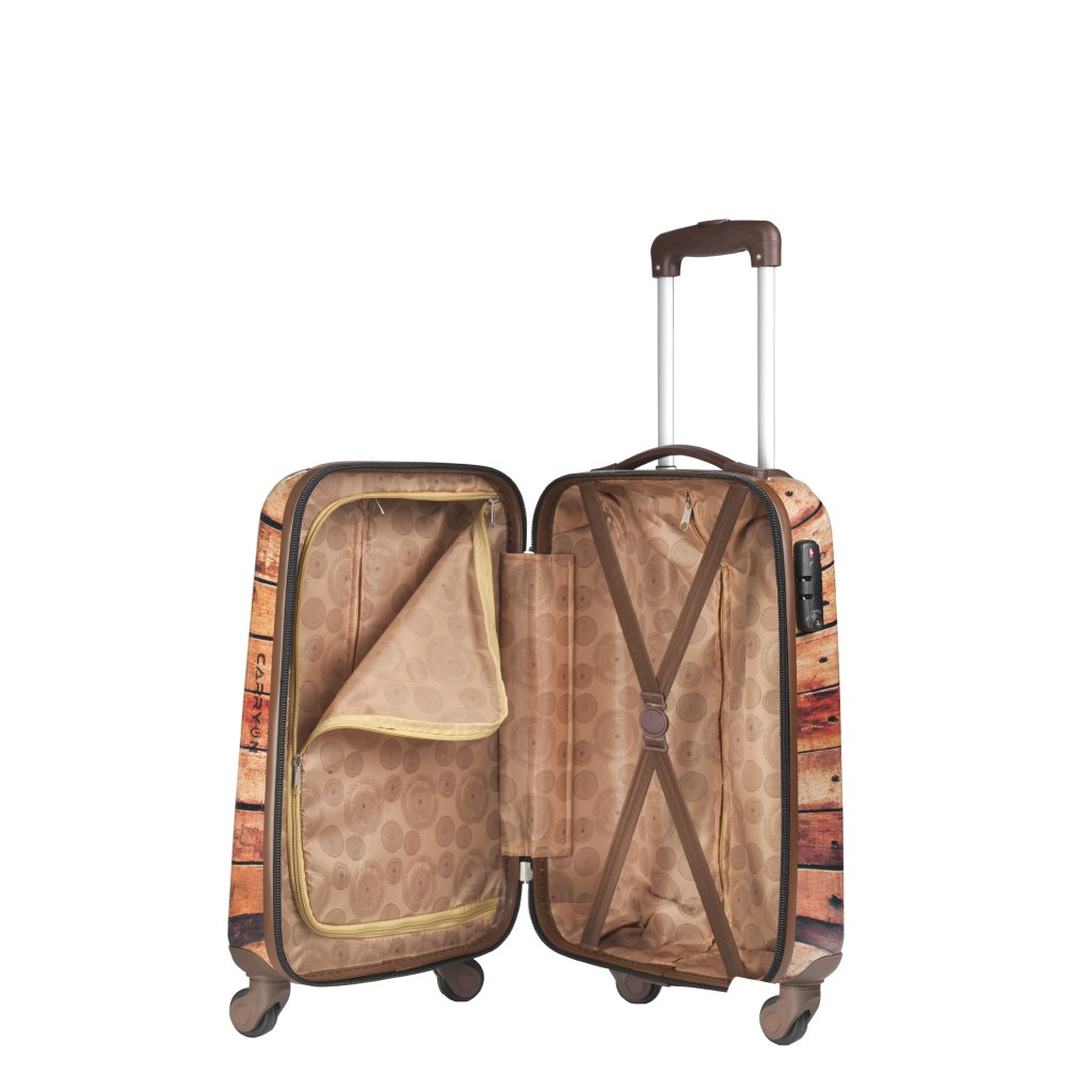 carryon handbagage koffer s woody luggage 4 all. Black Bedroom Furniture Sets. Home Design Ideas