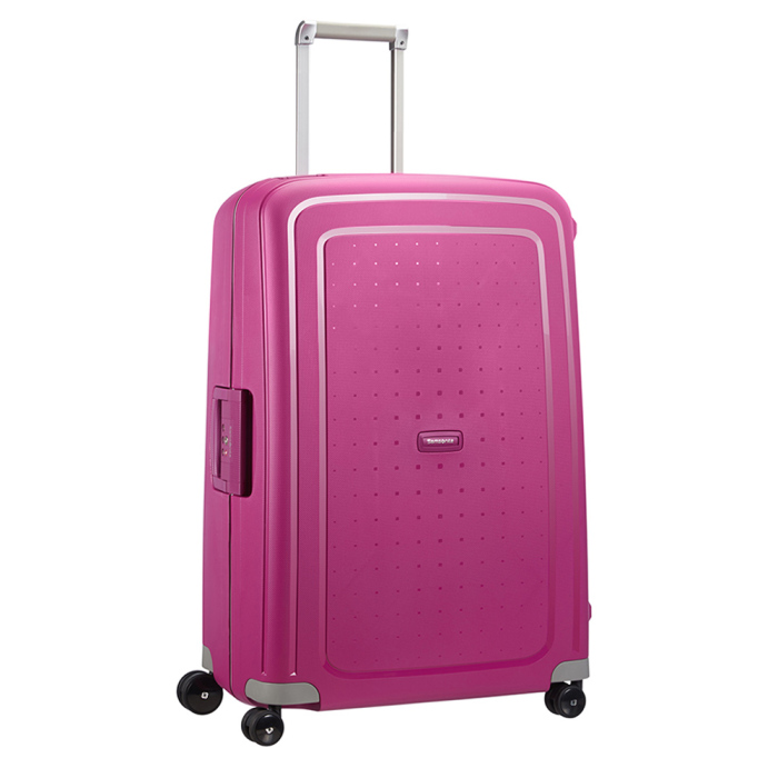 samsonite s 39 cure spinner 75 fuchsia luggage 4 all. Black Bedroom Furniture Sets. Home Design Ideas