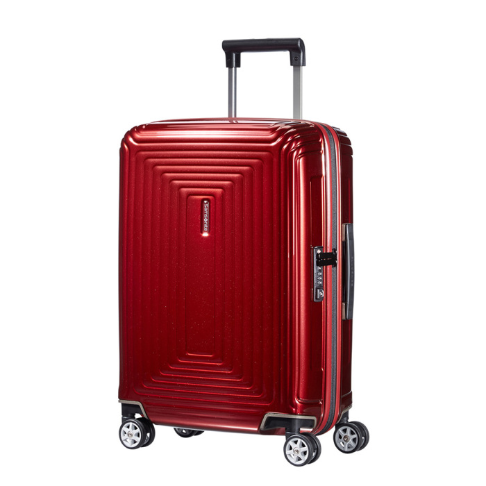 samsonite neopulse spinner 55 metallic red luggage 4 all. Black Bedroom Furniture Sets. Home Design Ideas